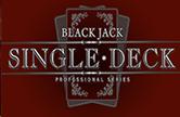 Single Deck Blackjack Professional Series в казино Вулкан Удачи