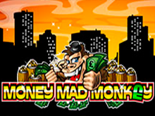 Автомат на деньги Money Mad Monkey