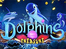 Автомат Dolphins Treasure в Вулкане на деньги