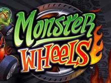 Популярная азартная игра Monster Wheels на 5 барабанов